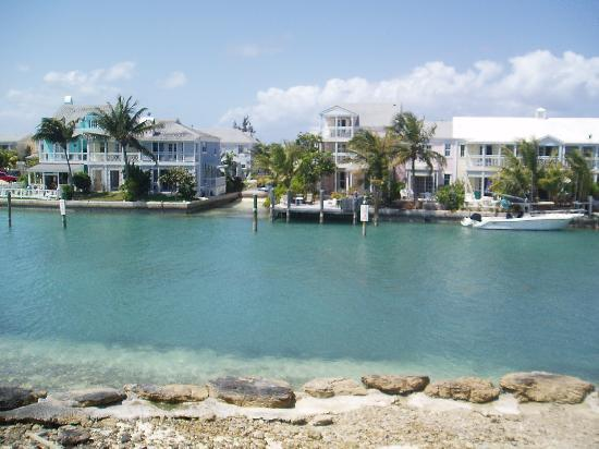 Sandyport Beach Resort: the view from our balcony, UNBELIEVABLY BEAUTIFUL,