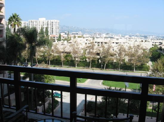 Balcony View Picture Of Intercontinental Los Angeles
