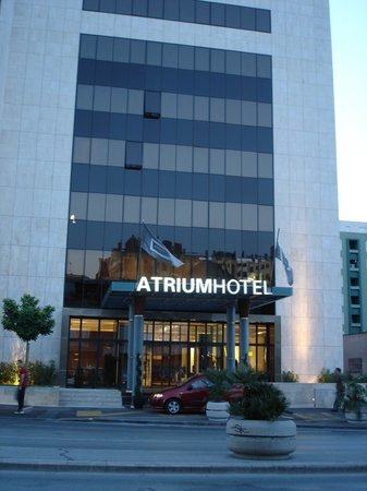Atrium Hotel: From the main road