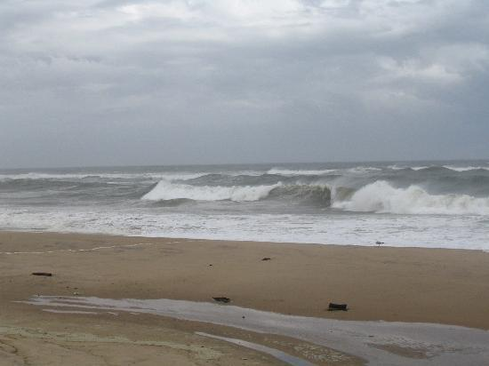 Montauk, NY: Beach after a storm