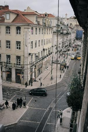 Hotel Lisboa Tejo: View from room