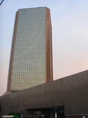 Grand Hotel Tijuana: One of the two towers