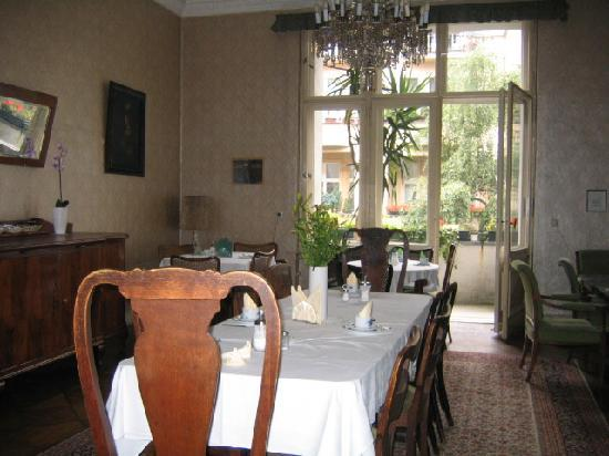 Dining room, Pension Funk