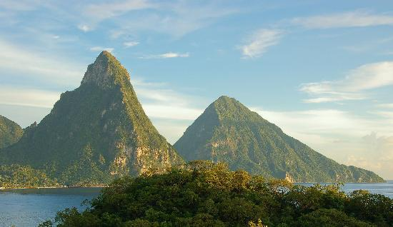 Jade Mountain Resort: View from JF5