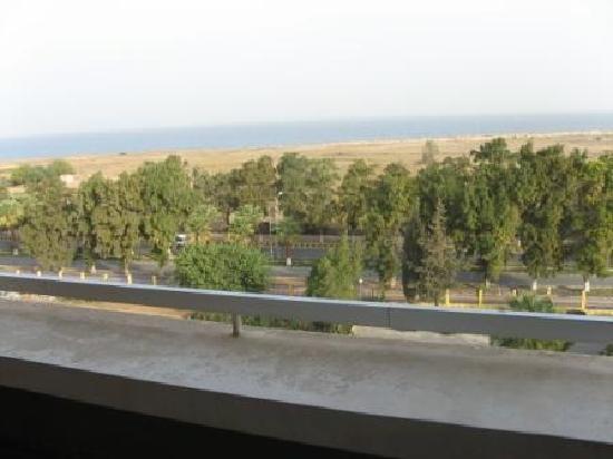 Le Meridien Lattakia: vue du balcon
