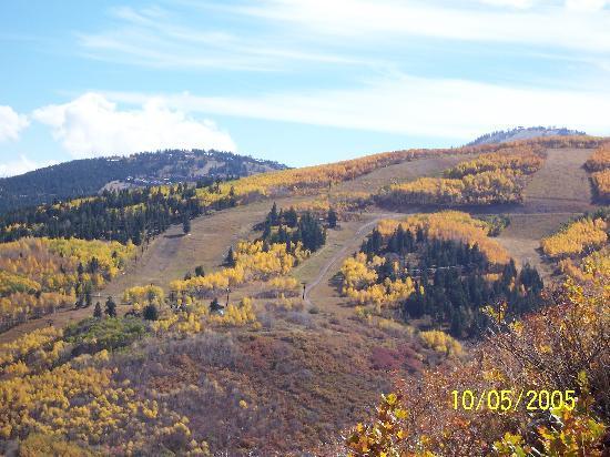 Shadow Ridge Resort Hotel: Hiking the Ski Area
