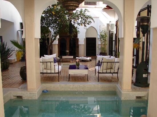 Dar Charkia : View Through the Pool