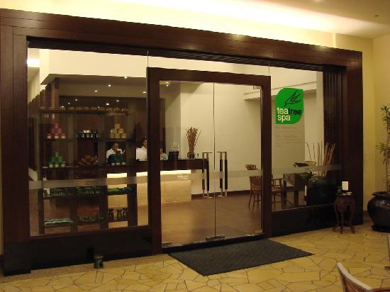 Holiday Inn Melaka : teatree spa