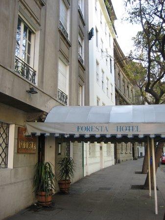 Foresta: Hotel entrance