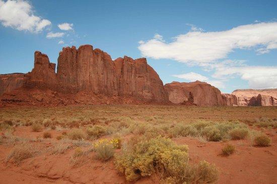Monument Valley Navajo Tribal Park: desert scenry superb