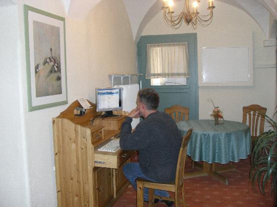 Altstadthotel Zieglerbräu: Internet Kiosk