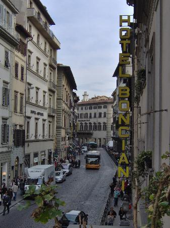 Bonciani Hotel : View from the balcony