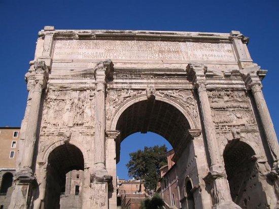 Hotel Midi Rome: the roman forum