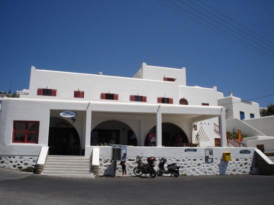 Artemis Hotel: Vista del hotel desde la playa