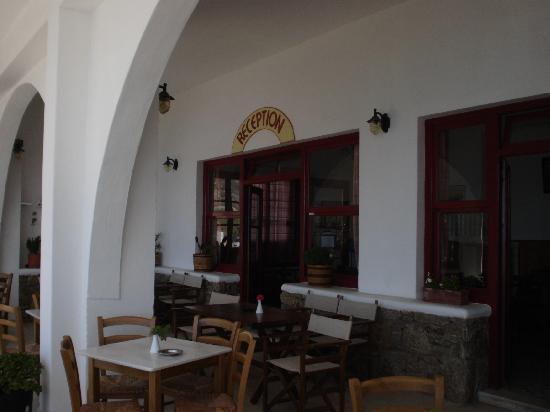 Artemis Hotel: recepcion