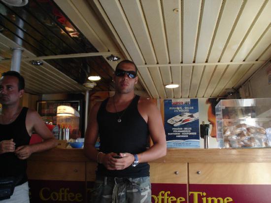 Artemis Hotel: en el barco rumbo a santorini