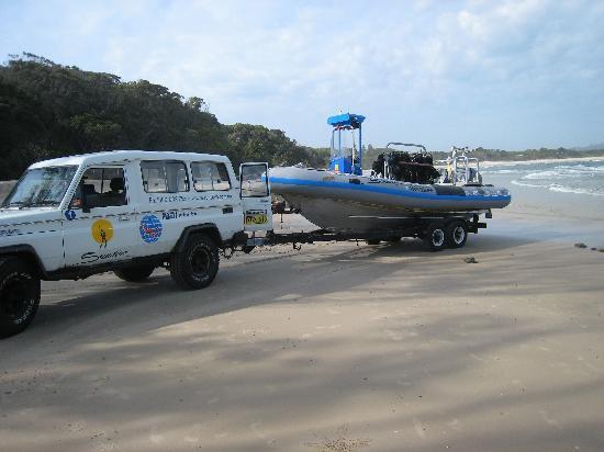 Byron Bay, Australien: Diving byron style
