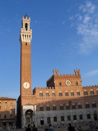 Sienne, Italie : Plaza del campo