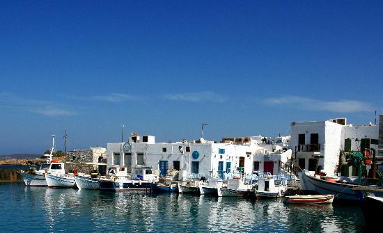 Naoussa, Grecia: Fishermen's port