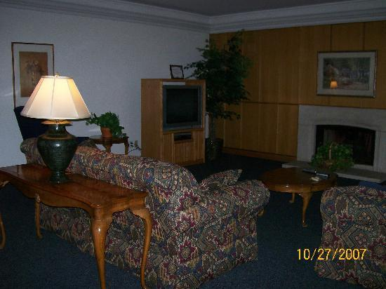 Ronald McDonald House: living room