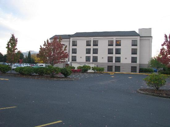 Hampton Inn Portland-Airport: Portland Oregon Hampton Inn