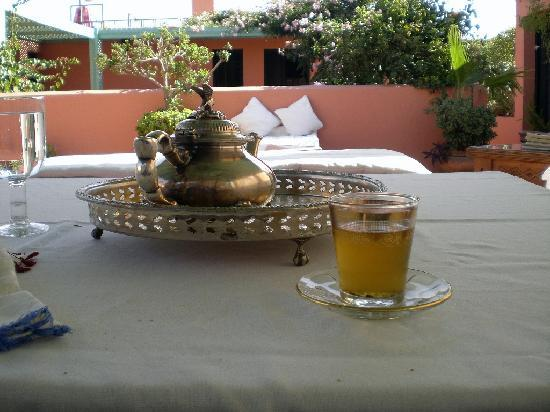Angsana Riads Collection Morocco : Bereber tea in terrace