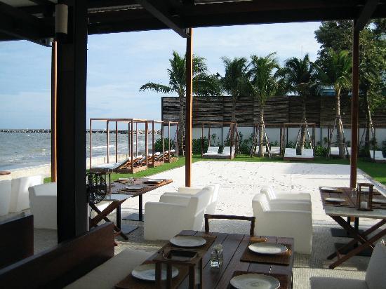 View from Oceanside Restaurant