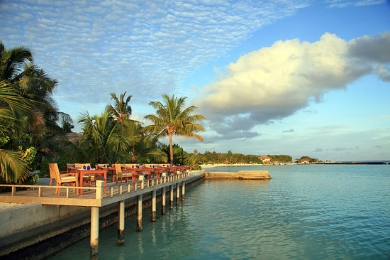 Furanafushi Island: Atol Gril Restaurant