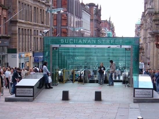 Buchanan Street: Subway Entrance and Exit