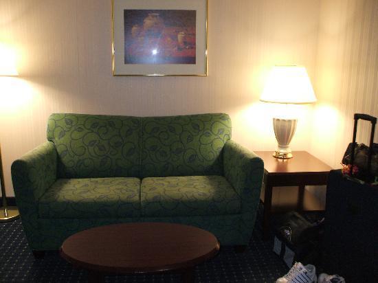 SpringHill Suites Cincinnati Northeast/Mason: Couch