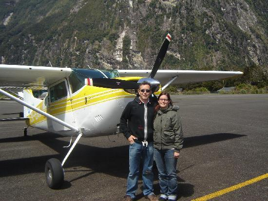 The Dairy Private Hotel: Just flown into Milford Sound