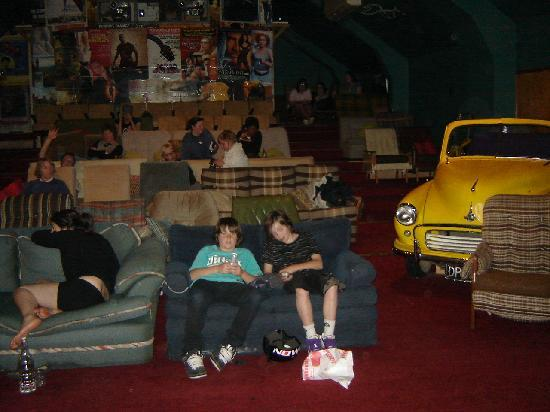 The Dairy Private Hotel: Cinema in Wanaka - Kiwi Style
