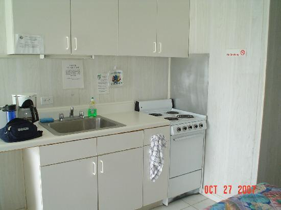 Overloaded outlets picture of seashell beach resort Kitchenette meaning