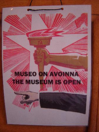Tampere, Finlande : Sign at the entrance to the museum