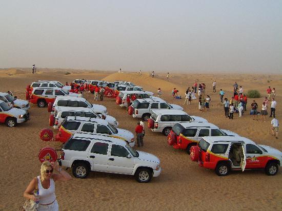 Jumeirah Mina A'Salam: Desert safari