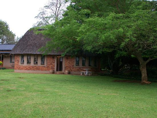 African Thatch Garden Cottage