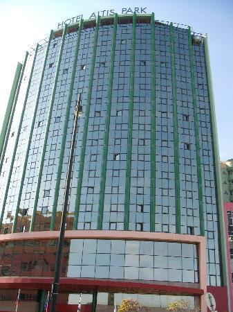 Olaias Park Hotel: Fachada frontal del hotel