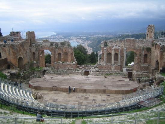 Teatro Greco, a mythic place...