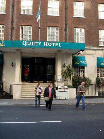 Hotel Westminster : Ingresso dell'Hotel