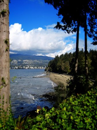 Vancouver, Kanada: view from stanly park