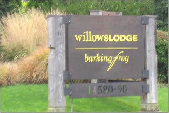 Woodinville, WA: The Willows Lodge