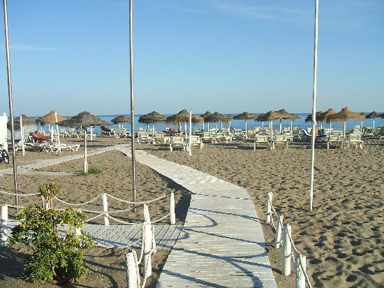 Hotel Las Palmeras: Beach at Fuengirola