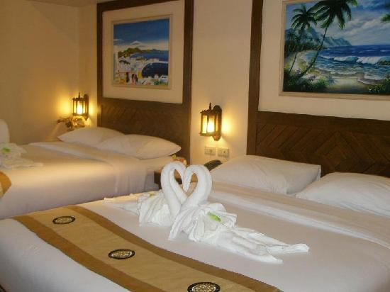 Pacific Club Resort: twin beds
