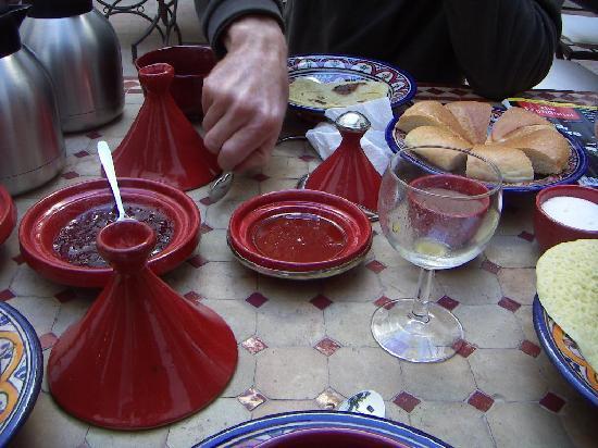 Riad Elixir : umm!yummy Breakfast