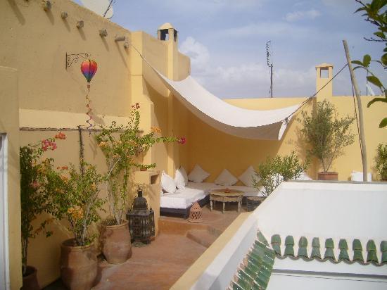 Riad Safa: Roof terrace
