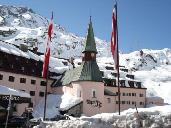 Vorarlberg, Österrike: Hospiz, St. Christoph