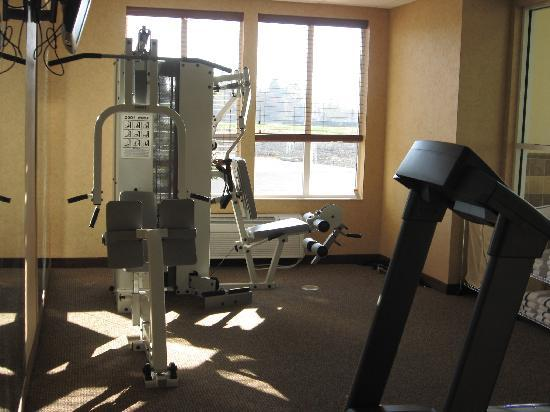 Comfort Inn & Suites McMinnville: exercise room