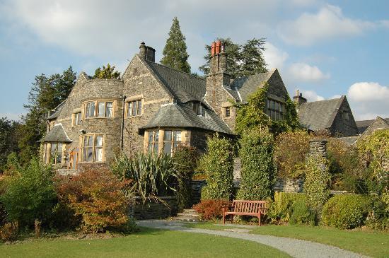 Cragwood Country House Hotel: Ansicht vom Garten