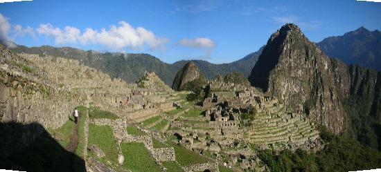 Santuario Historico de Machu Picchu: The entrance to Machi Picchu