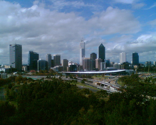 Perth, Avustralya: view from King's Park